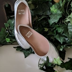 Worn once - Like New Fitflop ballet flat